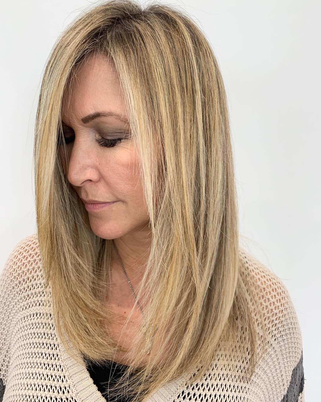 Oltre 50 tagli di capelli medi con strati