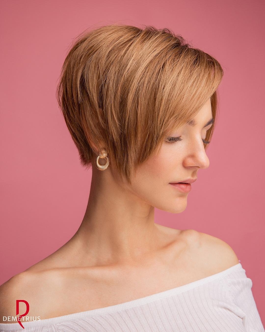 Fantastico taglio di capelli Pixie alle orecchie