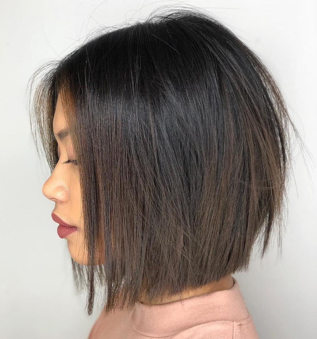 Top 50 tagli di capelli a bob di media lunghezza nel 2020 ...