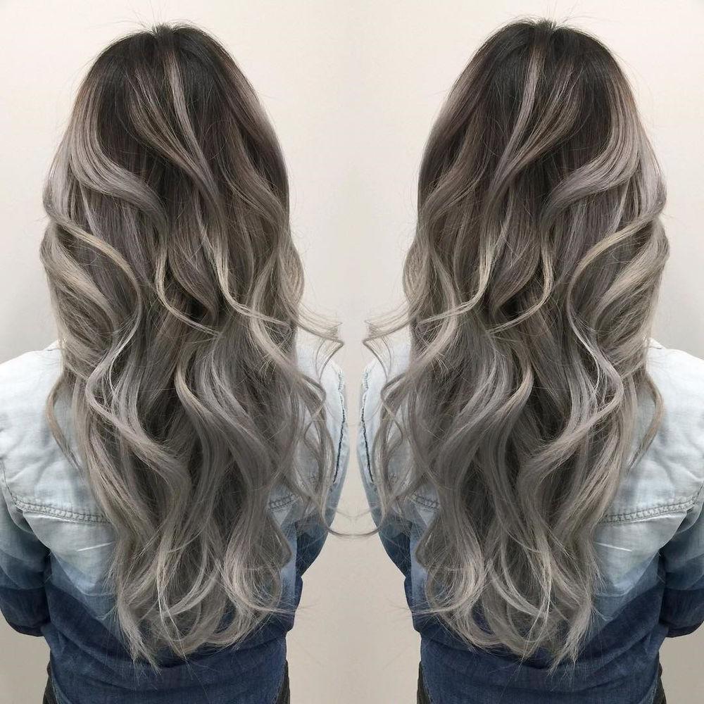 50 bellissime idee per capelli con sfumature argento 2020 ...